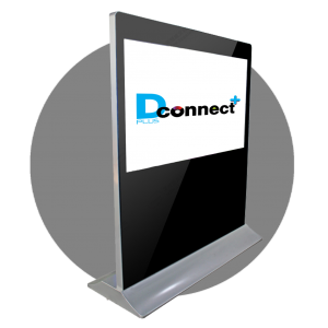 Horizontal Touch Screen Kiosk B