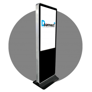 Vertical Touch Screen Kiosk A