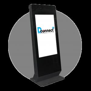 Vertical Touch Screen Kiosk B