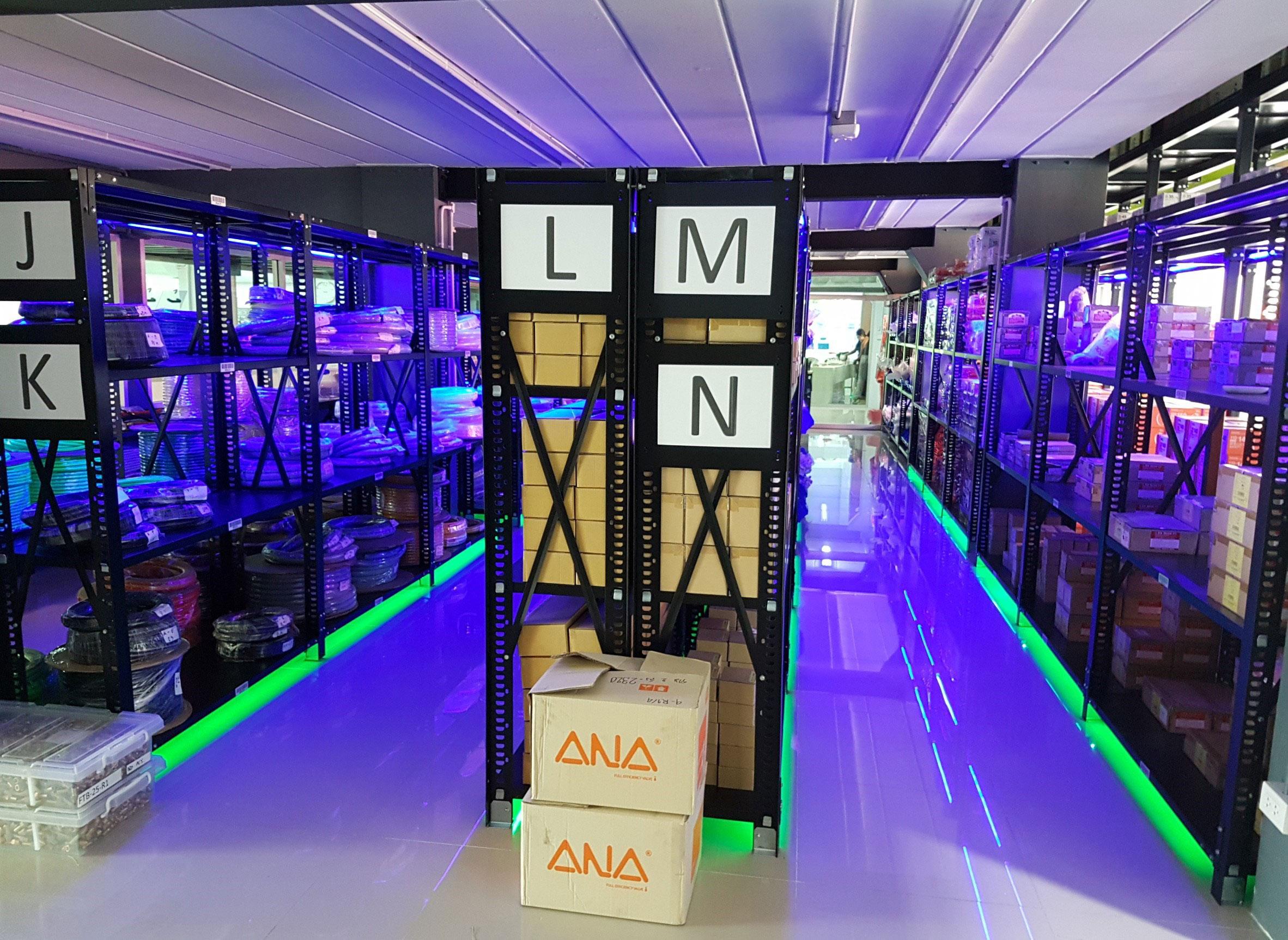 LED Indoor Lighting อาคาร Toyox