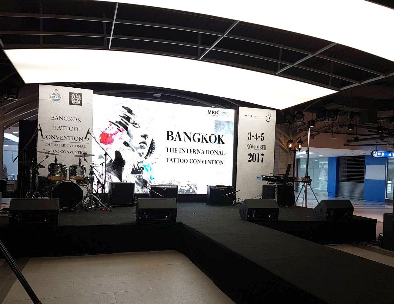 งานเช่าจอLED Bangkok Tattoo Convention#2