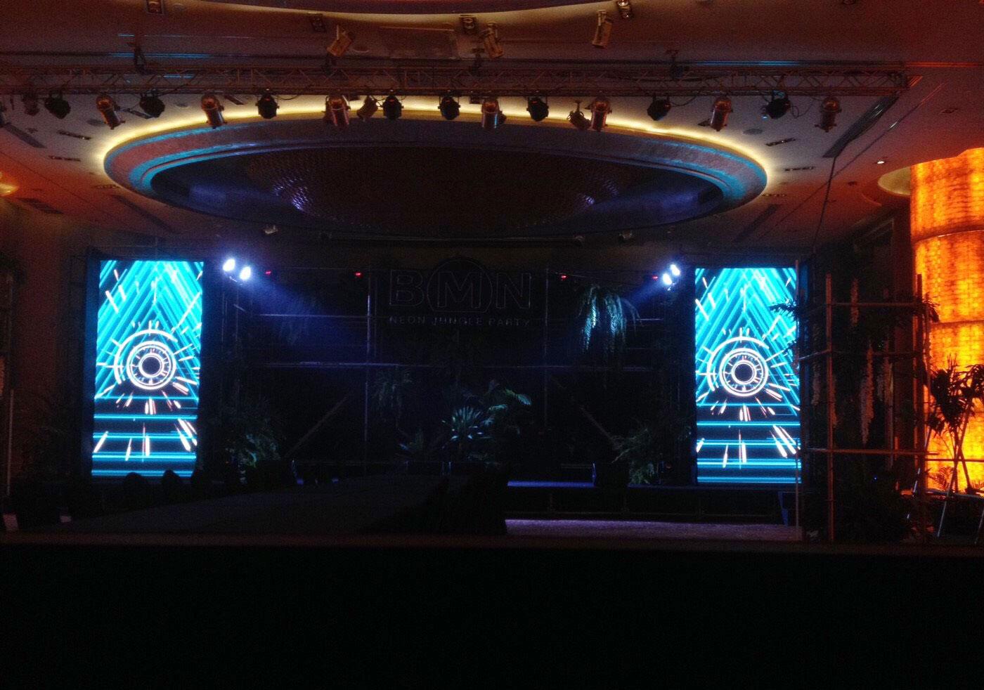 งานเช่าจอ LED โรงแรม Pullman BKK Grande Sukhumvit