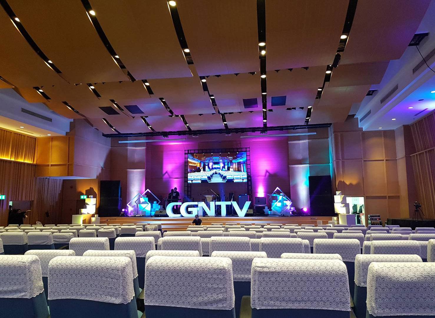 งานเช่าจอ LED เปิดตัวช่องใหม่ IPTV สภาคริสตจักรแห่งประเทศไทย
