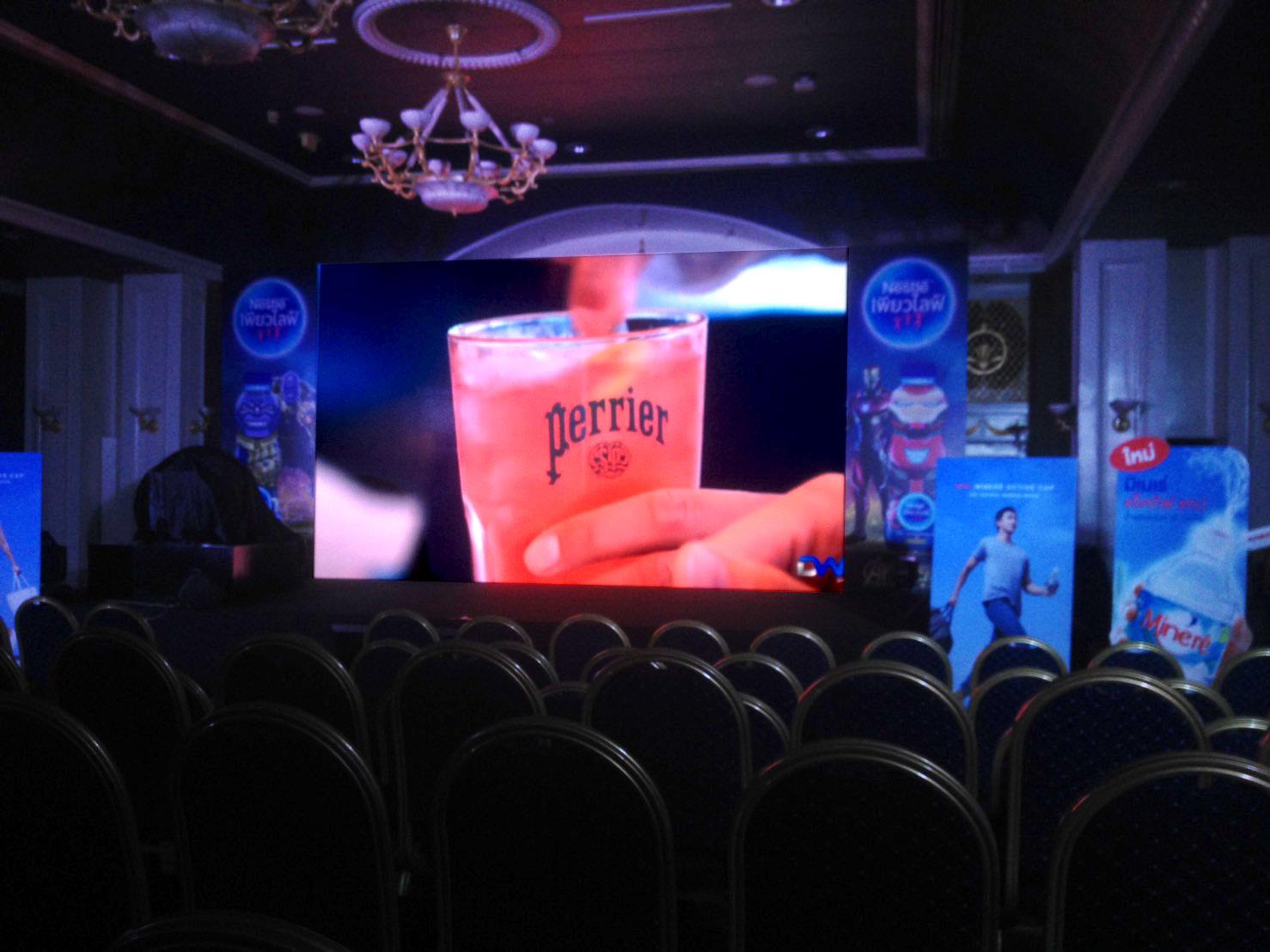 งานเช่าจอ LED - Nestle Pure Life <Impact เมืองทอง>