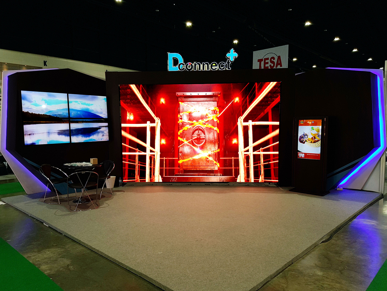 งานบูธ LED Expo Thailand 2018