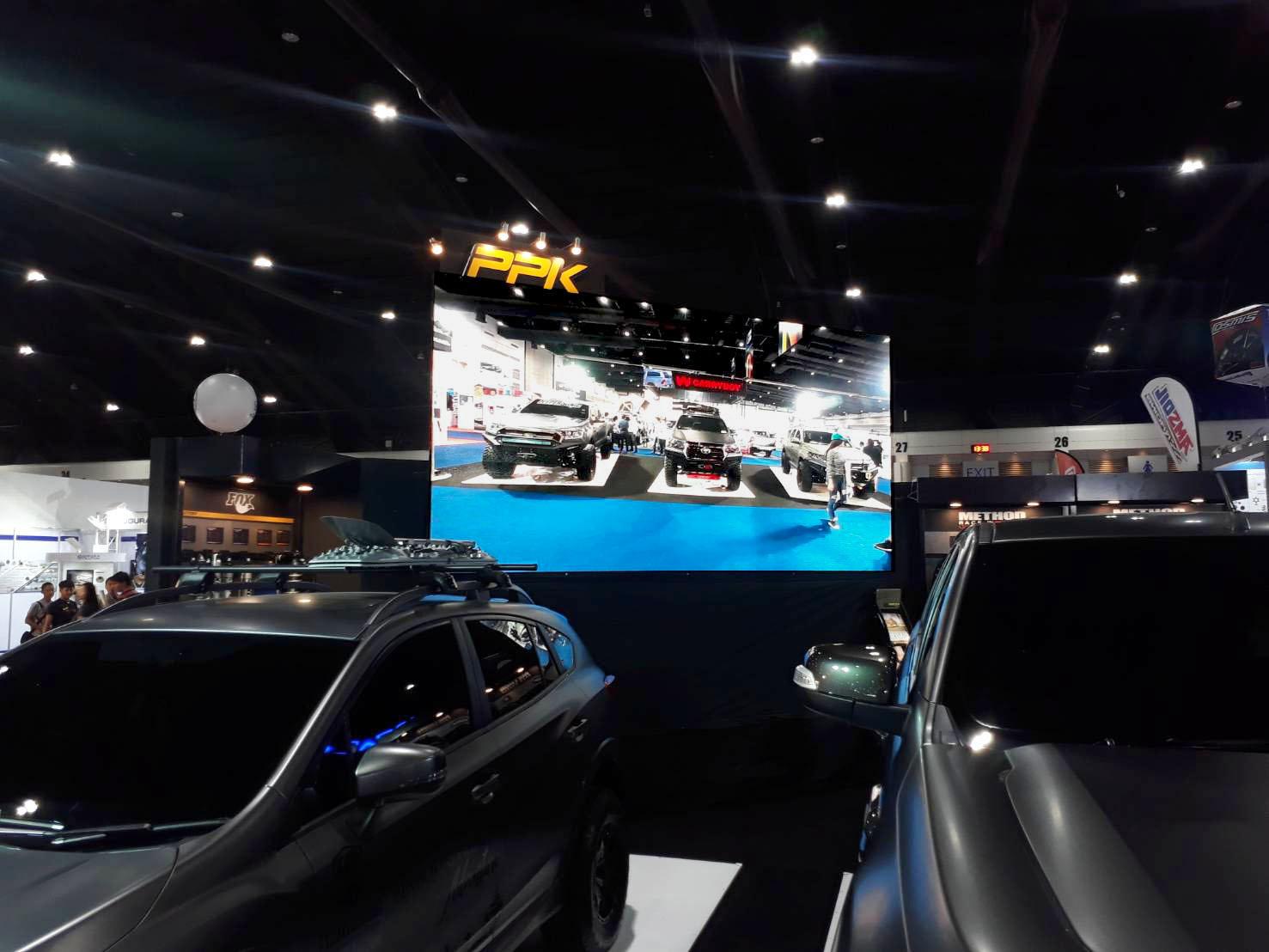 งานเช่าจอ LED - Auto Salon2018 (Challenger2 เมืองทองธานี)