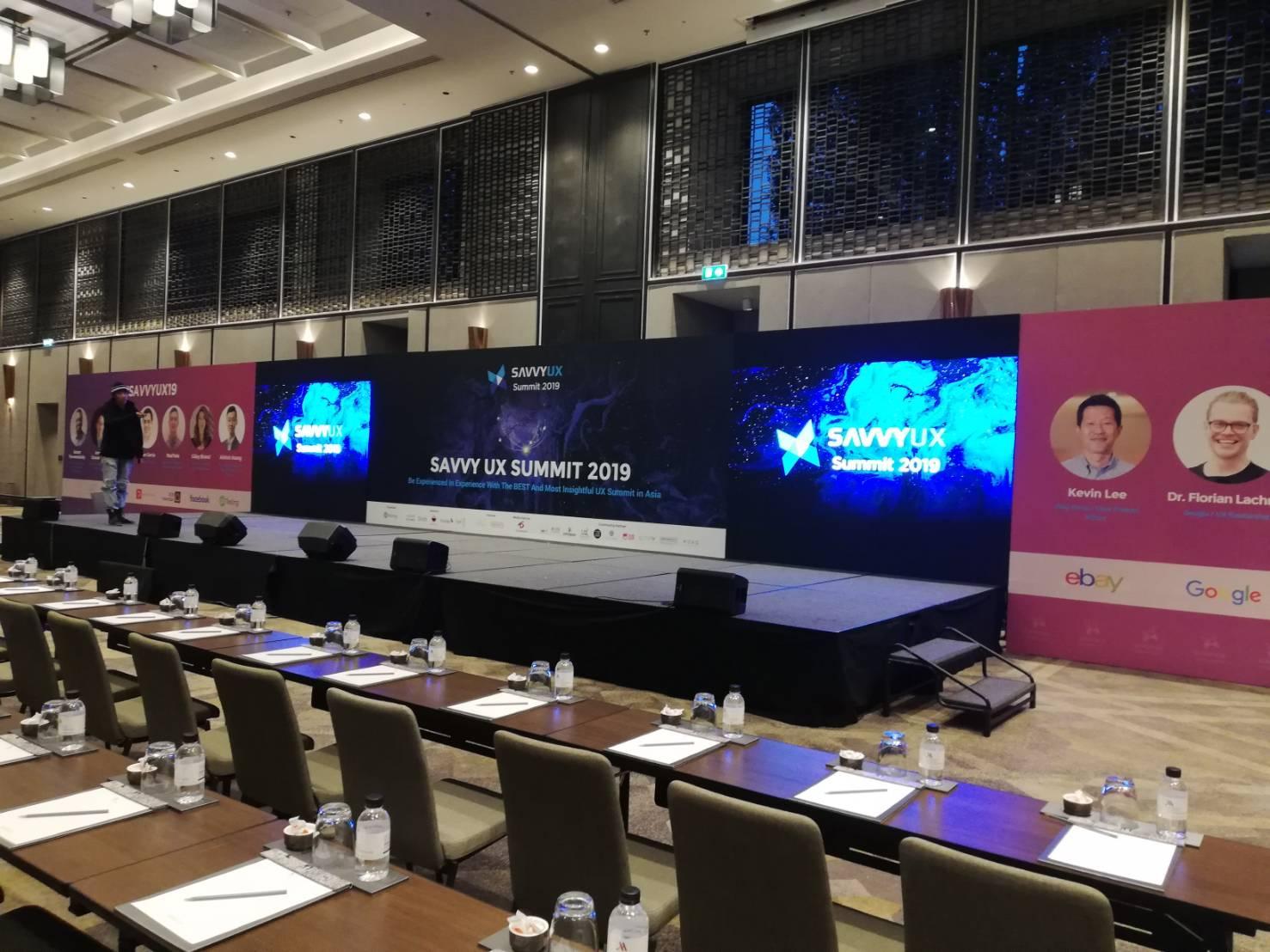 งานเช่าจอ LED – Savvy Ux Summit 2019