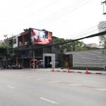 งานติดตั้งงานติดตั้งโครงสร้างและจอ LED - Sansiri Design by Yoo